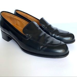 LP Tod's Black Studded Penny Loafers